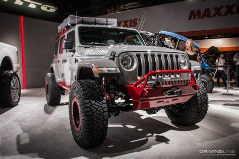 jl mania   jeeps  sema  gallery drivingline