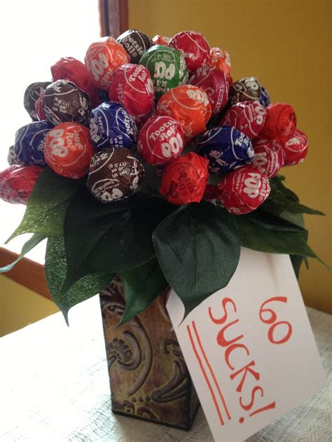 60th Birthday Bouquet With Frooties I Made This Quot 60 Quot Bouquet As A Gift For S