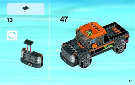 Lego City 60085 4x4 With Powerboat Set Power Motorcar Truck Boat lego 4x4 with powerboat 60085 city