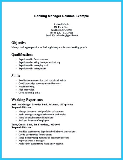 banking career objective stunning resume objective for banking sector gallery