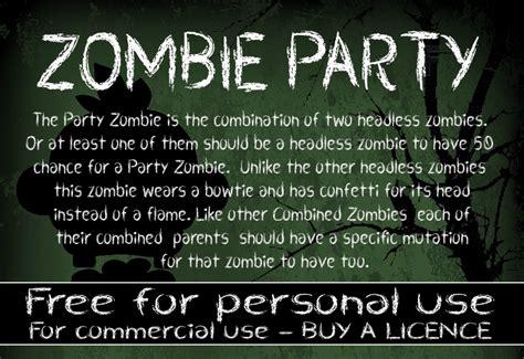 dafont zombified cf zombie party font dafont com