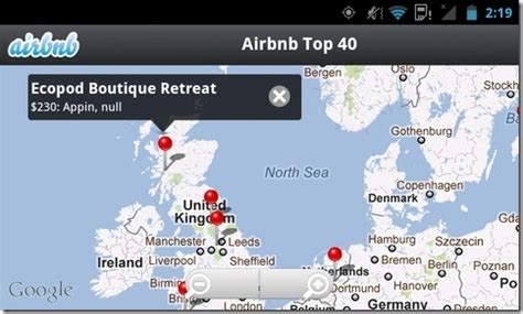 airbnb for android airbnb for android helps you find places available for rent social updates news