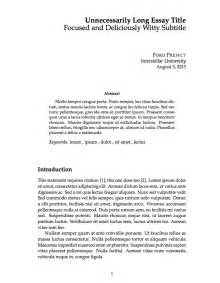 Collage Essay Exles by Templates 187 Essays