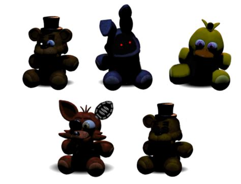Ic Lu 9 Pin f naf withered animatronics plushie pictures to pin on