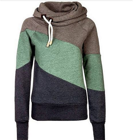 Patchwork Hoodies - 2015 hoody autumn winter sportwear 3 color stitching