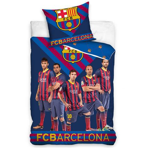 barcelona official official fc barcelona single duvet covers bedding bedroom