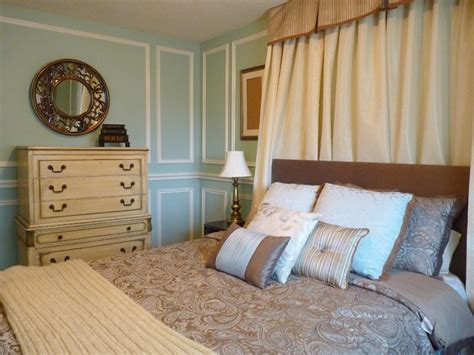 provincial master bedroom