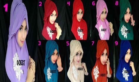 Binna Syar I Ori New syari kinara by goest ori toko jilbab branded jual