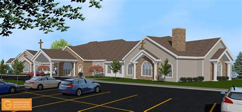 catholic cemetery announces plans for new funeral home
