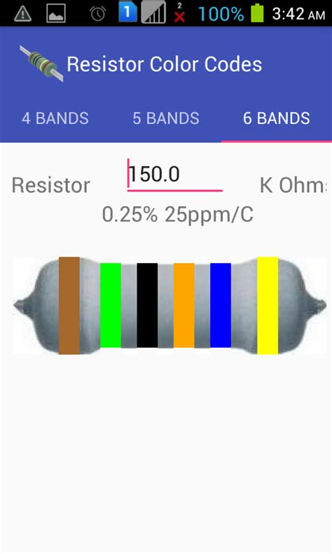 what is the color of 150k ohm resistor resistor color codes micro digital