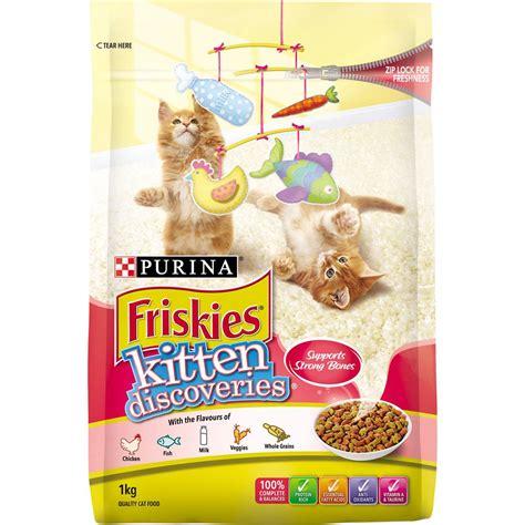 Friskies Kitten Discoveries 400g friskies kitten discoveries 1kg woolworths