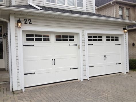 standard double garage door