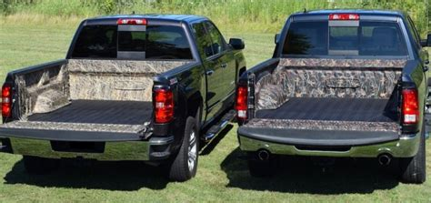 chevy silverado bed liner dualliner releases new camo truck beds gm authority