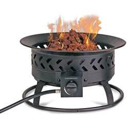 Propane Bonfire Pit Mr Barbq Propane Pit Mr Bar B Q Gad16600s