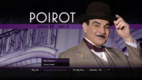 buy agatha christie s poirot the big four on dvd sanity agatha christie s poirot series 1 to 13 dan rofusz