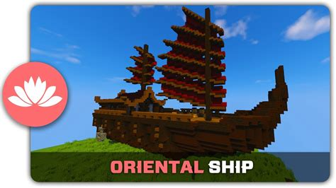 minecraft asian boat minecraft building tutorial how to build an oriental