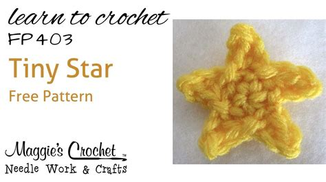star pattern using javascript crochet how to free pattern tiny star right handed