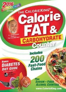 the calorieking calorie carbohydrate counter 2018 books the calorieking calorie carbohydrate counter 2016
