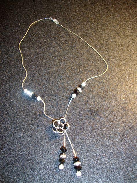 fiore swarovski collana con fiore swarovski gioielli collane di