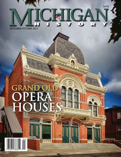 building a home in michigan grand old opera houses in michigan the howell opera house