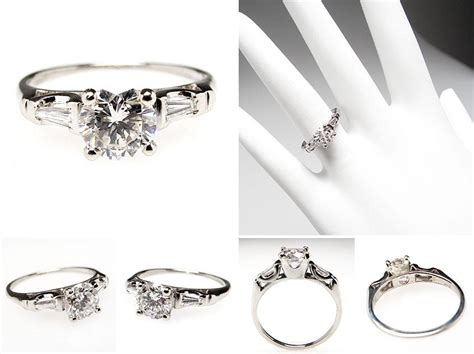 vintage and antique engagement rings from eragem chic