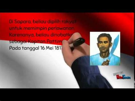 biografi kapitan pattimurah biografi kapitan pattimura youtube