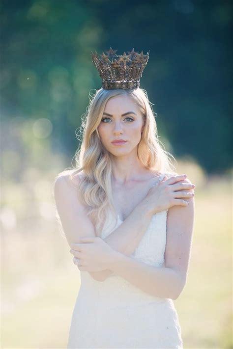 Trend Alert Princesses by Trend Alert Bridal Crowns Bridal Musings Wedding