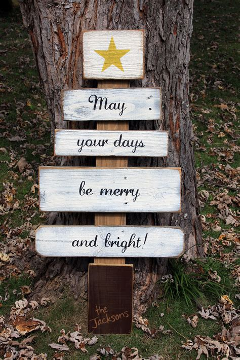 christmas wishes tree signs  andrea