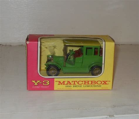 matchbox mercedes matchbox models of yesteryear y 3 1910 mercedes limousine