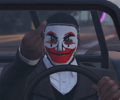 Topeng Mask Clay Who Am I Fiber anonymous clay mask gta5 mods