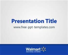 walmart powerpoint template walmart ppt template free powerpoint templates