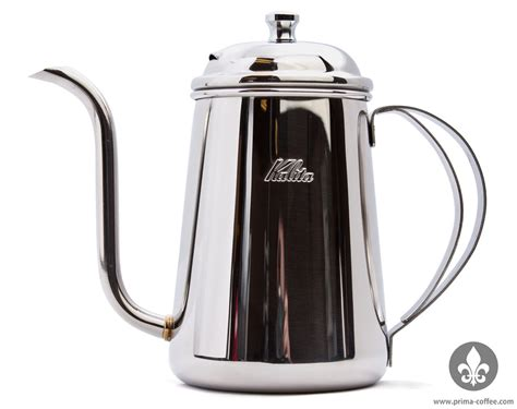 Kalita Thin Spout Kettle   Controlled Pour Rate for Pourover Coffee