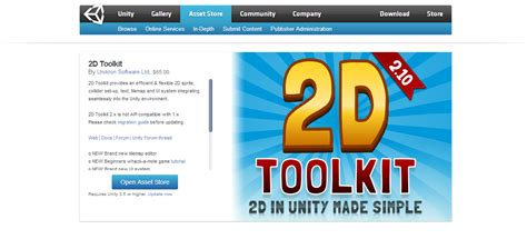 tutorial 2d toolkit unity using unity to make 2d games the interface tutorial