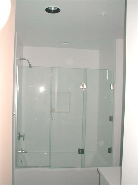 bathtub with glass enclosure door enclosure good looking tub enclosures in bathroom