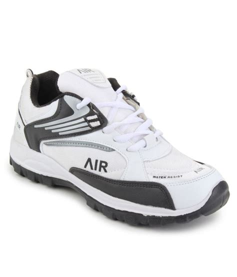 black leather sports shoes buy black synthetic leather sports shoes for