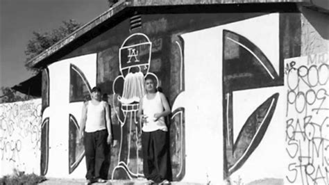 west coast gang relatedcholo graffiti part youtube
