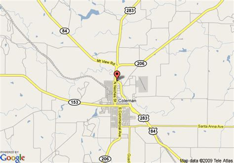 coleman texas map map of best western coleman inn coleman