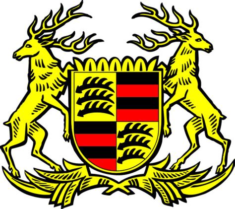 stuttgart coat of arms max hoffman designed the porsche logo well not