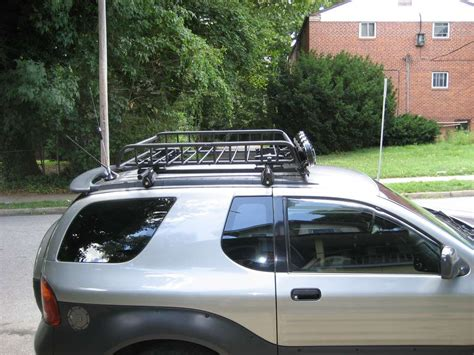 Roof Basket With Lights by New Light Rack