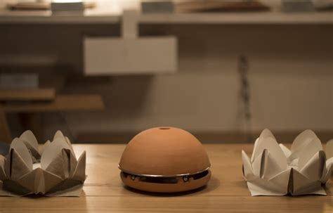 riscaldamento vasi terracotta egloo candle powered terracotta dome heater by marco