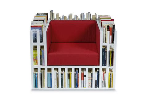 the bookshelf chair is clever convenient things