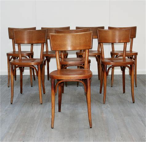 Modern Bistro Chairs Set Of Eight Baumann Bistro Chairs Haunt Antiques For The Modern Interior