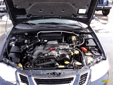 2006 saab 9 2x 2 5i sport wagon engine photos gtcarlot