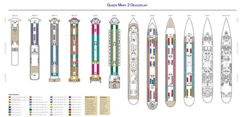 Queen Mary Floor Plan | deck plan queen mary 2