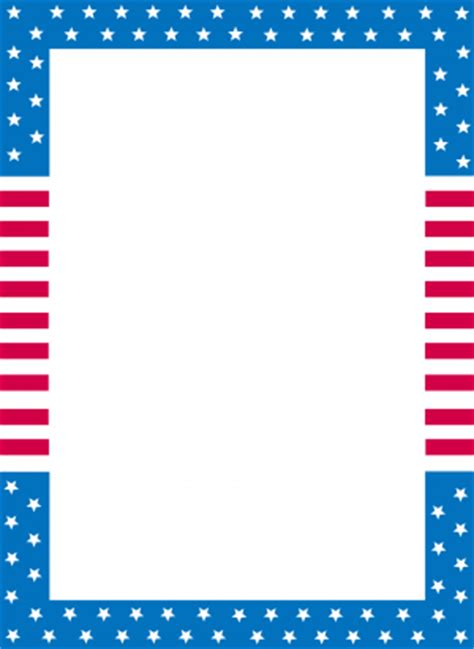 american writing paper 7 best images of flag writing paper printable american