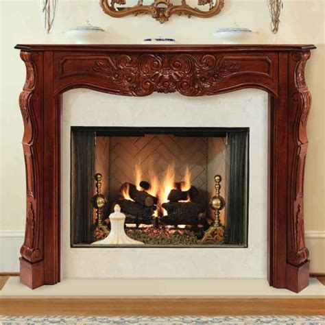 pearl mantels 48 quot the deauville fireplace mantel