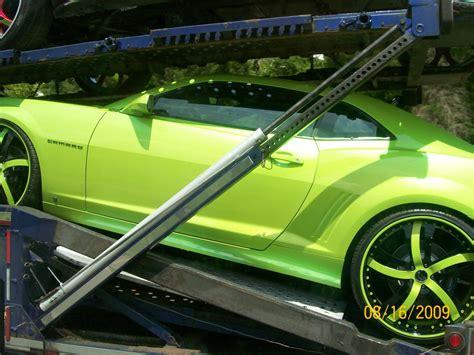 neon green camaro custom paint line neon green camaro spotted