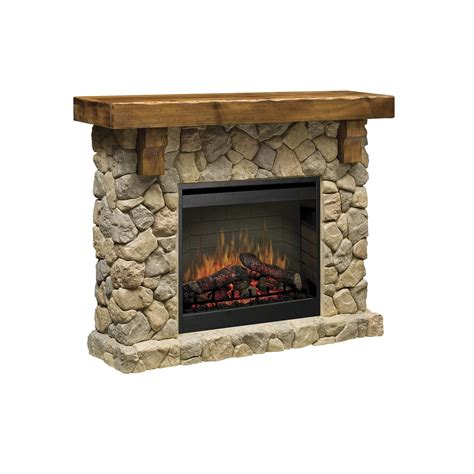 Fieldstone Fireplace Dimplex Fieldstone 56 Quot Flat Wall Electric Fireplace