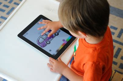 using ipad and iphone apps to promote speech and language