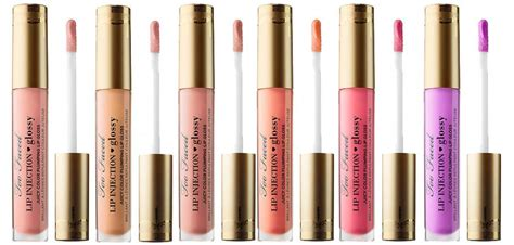 Caprylyl Capsicum by Too Faced Lip Injection Glossy Beautyalmanac Com